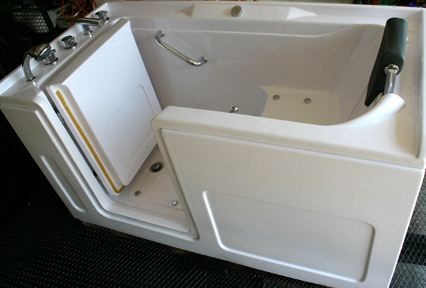 October 2011 thatswhattsaid for Sit down shower tub