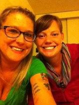 Emily and I