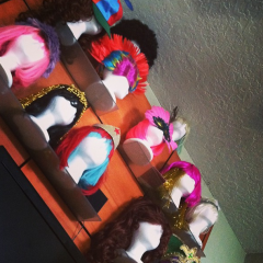 What, you didn't believe me about the party wigs?
