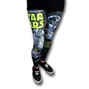 Star Wars Leggings: 1, Tanya: 0